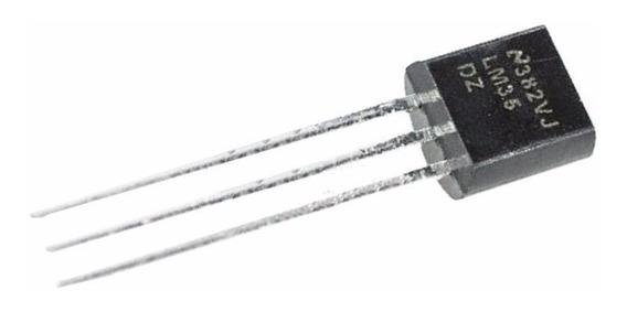 5 Transistor Lm35dz Lm35 Sensor De Temperatura