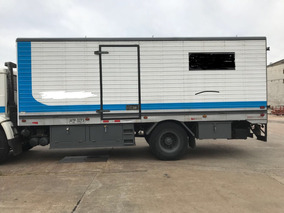 Furgón Caja Carrocería Para Camión