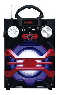 Parlante Multireproductor Portatil Kazz Ds-09 15w Usb Sd Bt