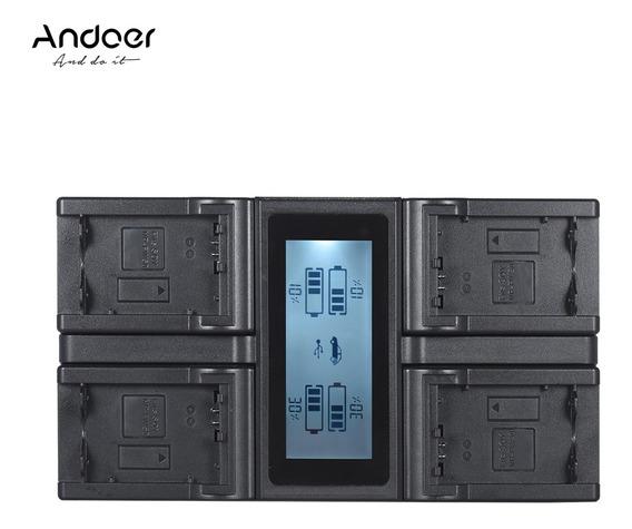 Bateria Da Câmera Digital De 4 Canais Andoer Np-fw50 Npfw50