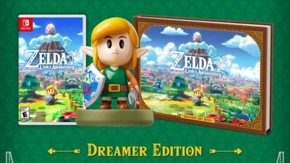 The Legend Of Zelda Links Awakening Limited Dreamer + Amiibo