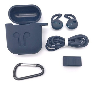 Capa De Silicone 5 Em 1 Para Earpod Fone De Ouvido iPhone