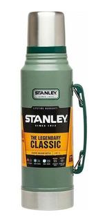 Termo Stanley Verde Original Nuevo Acero Inoxidable 1 Litro