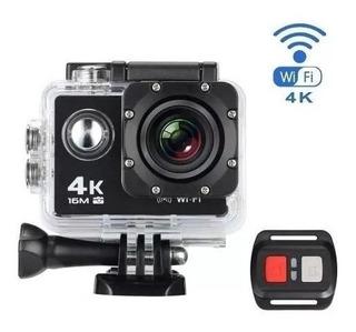 Cámara Deportiva Action Go Pro 4k Fotografia Video Alta Resolucion Lcd Sumergible Accesorios Deportes Filmadora
