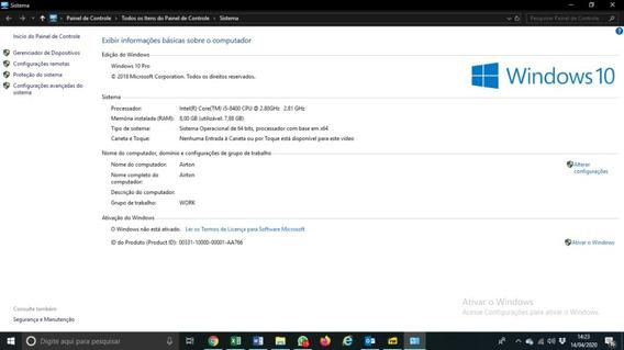 Computador Desktop Nfx I5 182gb Ssd