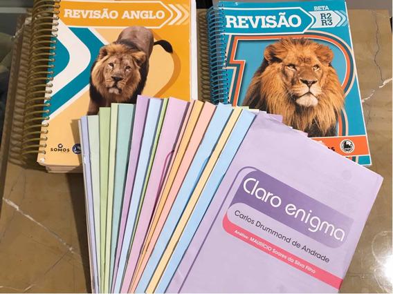 Apostilas De Revisão Anglo Enem E Vestibulares + Livros