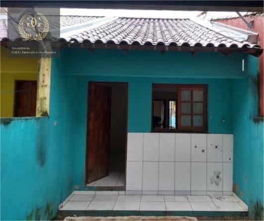 Casa Com 1 Dormitório À Venda, 47 M² Por R$ 88.000,00 - Jardim Algarve - Alvorada/rs - Ca0589
