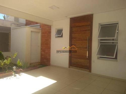 Casa Com 3 Dormitórios À Venda, 150 M² Por R$ 700.000,00 - Condomínio Aldeia De España - Itu/sp - Ca1348