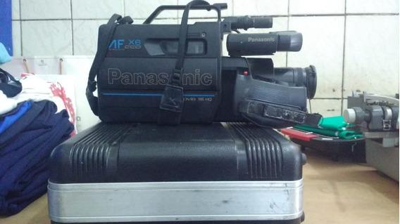 Filmadora Panasonic Af X6 Ccd Omnimovie Vhs