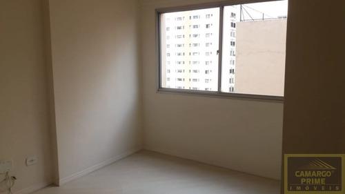 Imagem 1 de 15 de Apartamento Com 40m², 1 Vaga E Andar Alto Em Pinheiros! - Eb87476