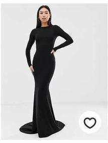 Vestido Asos Negro