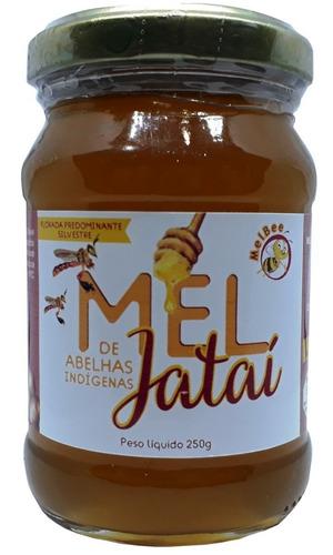 Imagem 1 de 3 de Mel De Abelhas Jataí - 250 Gramas