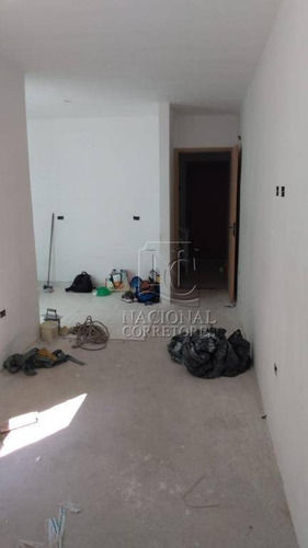 Cobertura À Venda, 110 M² Por R$ 275.000,00 - Vila Guaraciaba - Santo André/sp - Co4245