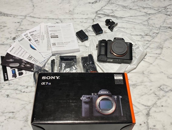 Câmera Sony A7s Ii 4k Wifi Fullframe - Seminova