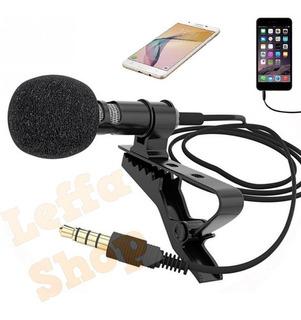 Microfone De Lapela Celular Smartphone iPhone Android Videos