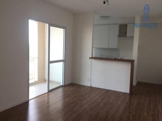 Apartamento Com 2 Dormitórios Para Alugar, 65 M² Por R$ 1.500,00/mês - Jardim America - Paulínia/sp - Ap0658