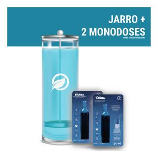 Kit Jarro 1,2 Litro + 2 Monodoses Biocide Barba/dsfx 30ml