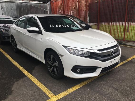 Honda Civic 2.0 Ex Flex Aut.4p 2020 Blindado Iii-a