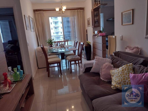 Apartamento Com 2 Dormitórios À Venda, 65 M² Por R$ 466.000,00 - Marapé - Santos/sp - Ap5922
