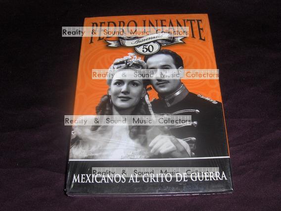 Pedro Infante Mexicanos Grito De Guerra Dvd 50 Aniversario