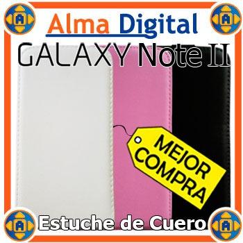 Estuche Cuero Samsung Note 2 7100 Forro Protector Tablet Ii