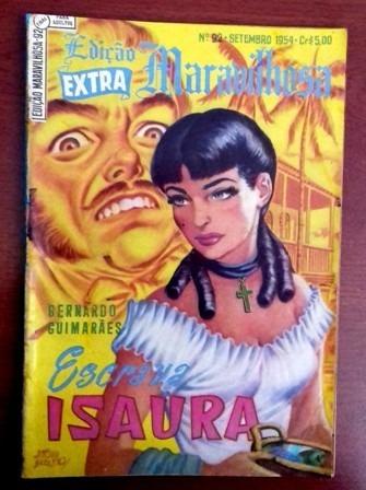 Edição Maravilhosa 92 (ebal-1a Série-1954)-a Escrava Isaura