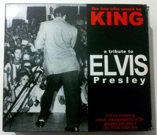 Elvis Presley 3cds  Unico!!! Made In Ec (comunidad Europea)