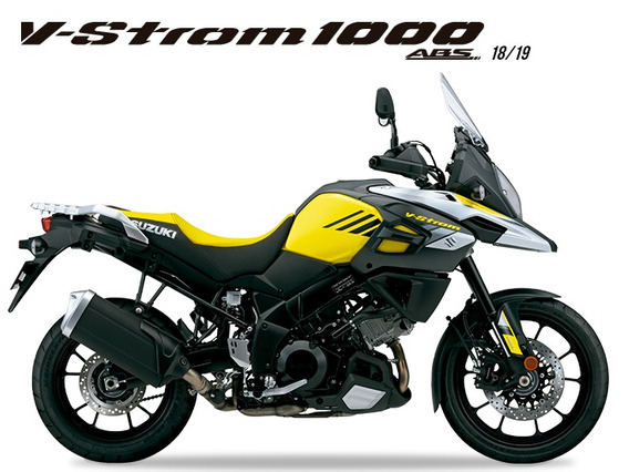 Suzuki V-strom 1000a 2018/2019 Amarelo - 0km