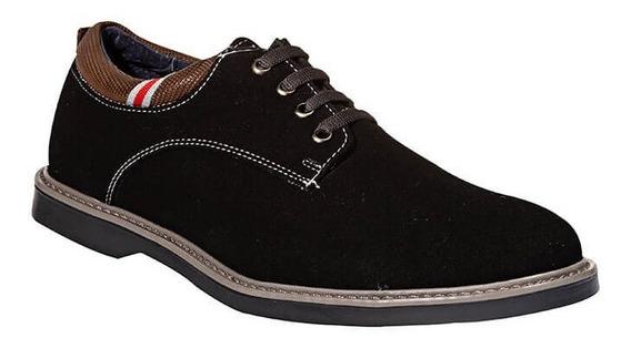 Zapatos Casuales Leon Caballero Hombre Gamuza 22502