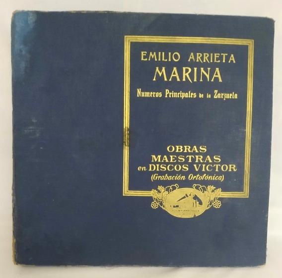 Coleccion Discos Pasta -victor- Principiantes De La Zarzuela