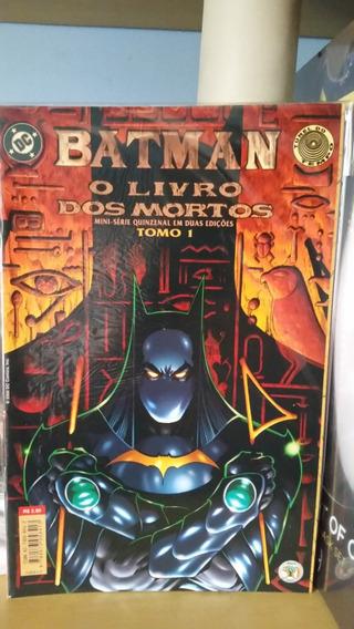 Batman O Cavaleiro Das Trevas: O Livro Dos Mortos Abril Dc