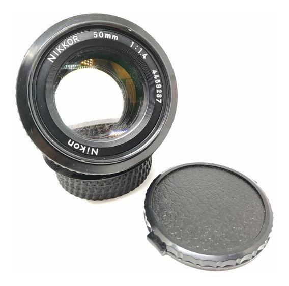 Nikon 50mm F1.4 Ais (requer Limpeza)