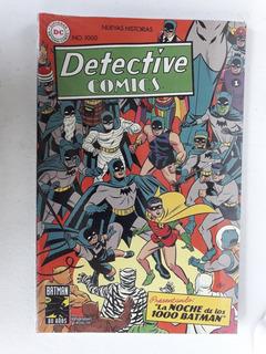 Cómic Detective Comics La Noche De Los 1000 Batman