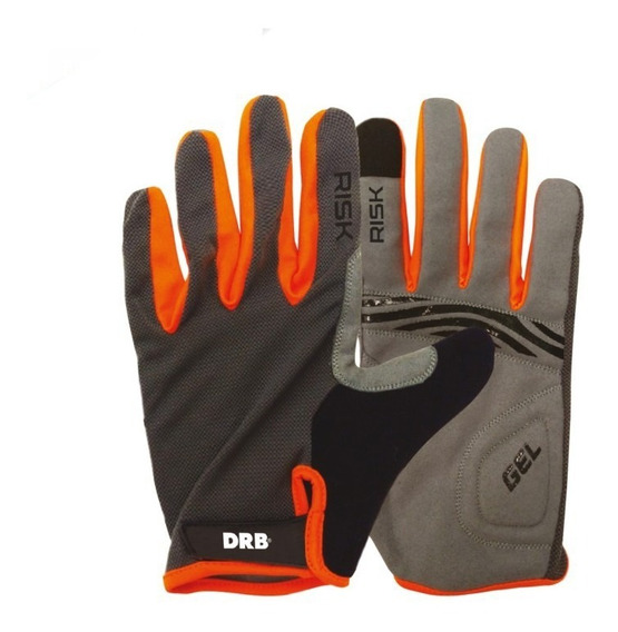 Guantes Dribbling Ciclismo Risk Finger Touch Eezap