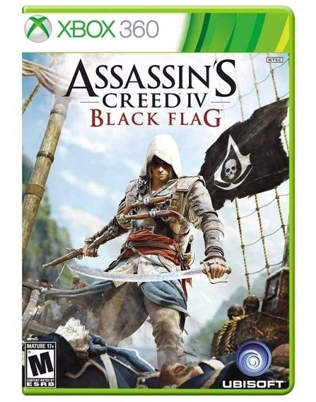 Assassins Creed Iv Black Flag X360 Física Port. Frete Grátis