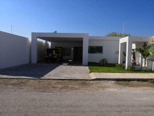 Exclusiva Residencia Equpiada De Un Piso En Dzityá, Zona Norte De Mérida