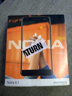 Nokia 6.1 (ligado Para Teste De Funções).