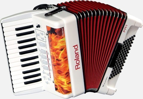 Roland Fr-1 V-accordion Acordeon Digital 72 Bajos Midi