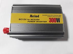 Inversor De Tensão 12vdc Para 220vac De 300w Power Inverter