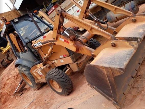 Retroescavadeira Case 580l 4x4 Ano 2006, Revisada