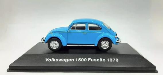 Vw Fusca Fuscão 1500 1970 Ixo 1:43 Carros Miniaturas Réplica