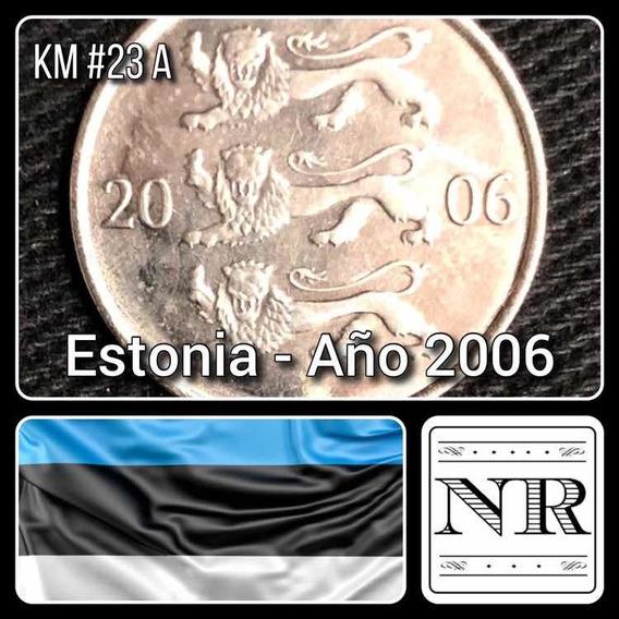 Estonia - 20 Senti - Año 2006 - Km # 23 A - Escudo