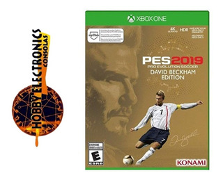 Pes 2019 David Beckham Edition Xbox One / Disco Fisico