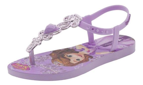 Sandália Infantil Feminina Disney Princesas Ipanema - 26172