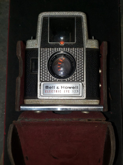 Bell + Howell Electric Eye 127 Vintage Câmera De Filme Lente