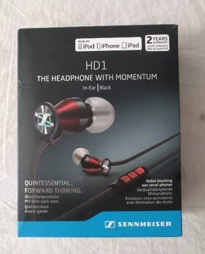 Fone Ounvido In Ear Sennheiser Hd1 Com Fio