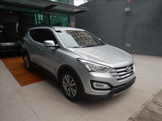 Hyundai Santa Fé Santa Fé V6 2015 Prata 5 Lugares Única Dona