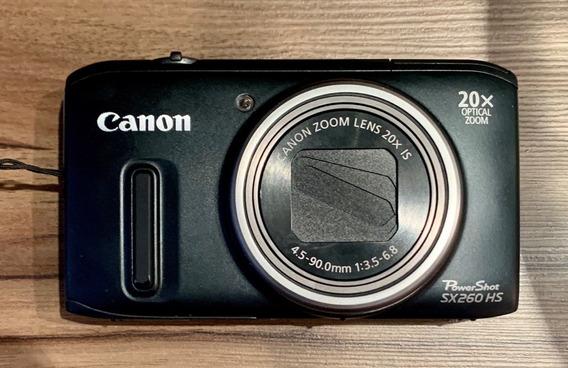 Câmera Canon Powershot Sx260 Hs