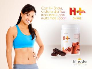 Shake H+ Hinode Whey Protein Banana - Baunilha 550g