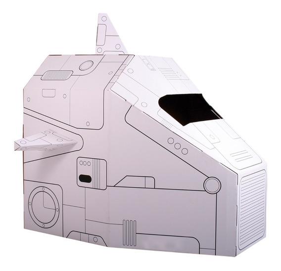 Nave Espacial De Cartón Mamut Cardboard Toys
